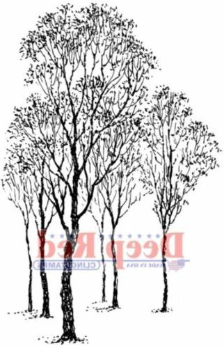 Deep Cling 2X3-Winter Trees