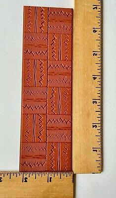Clearsnap - ColorBox Molding Mat Rubber Stamp - Zig Zag Grid