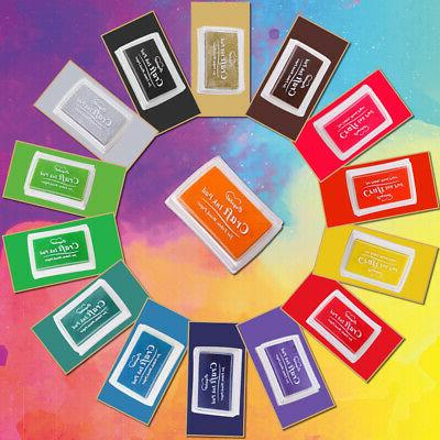 Colorful Craft Ink Stamps