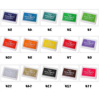 Colorful Stamps Stamp DIY Scrapbooking