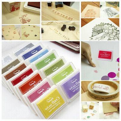 Colorful Craft Stamps Pad DIY