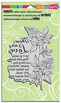 STAMPENDOUS CRR265   Cling Rubber Stamp, Those We Love