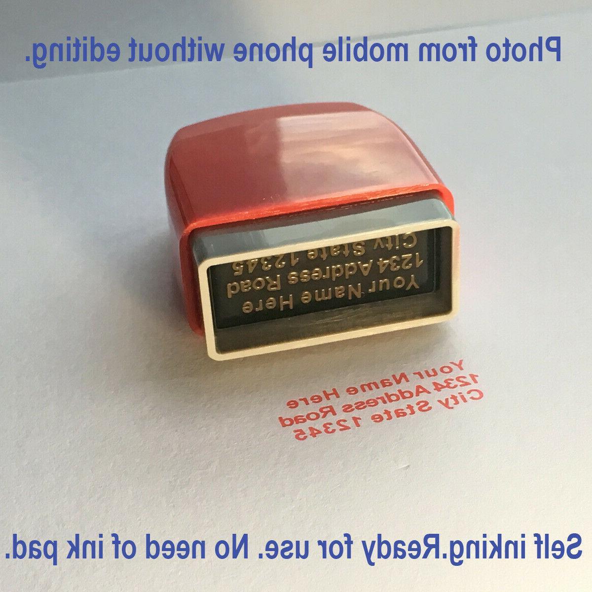 Custom Inking Stamp Signature Office