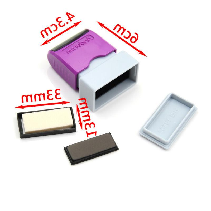 self office company personalized stamp case/pad