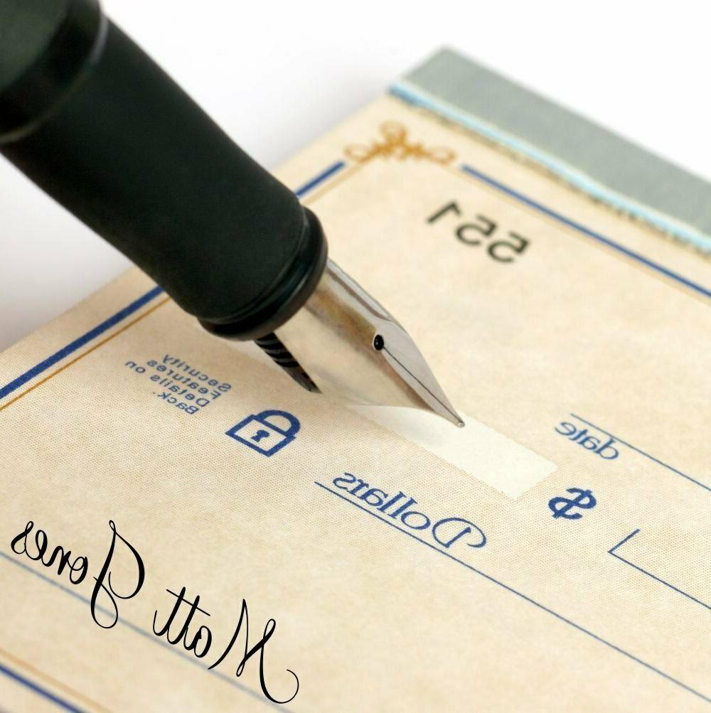 Custom Teacher Signature Stamp / Stamp JYP-4912-S04