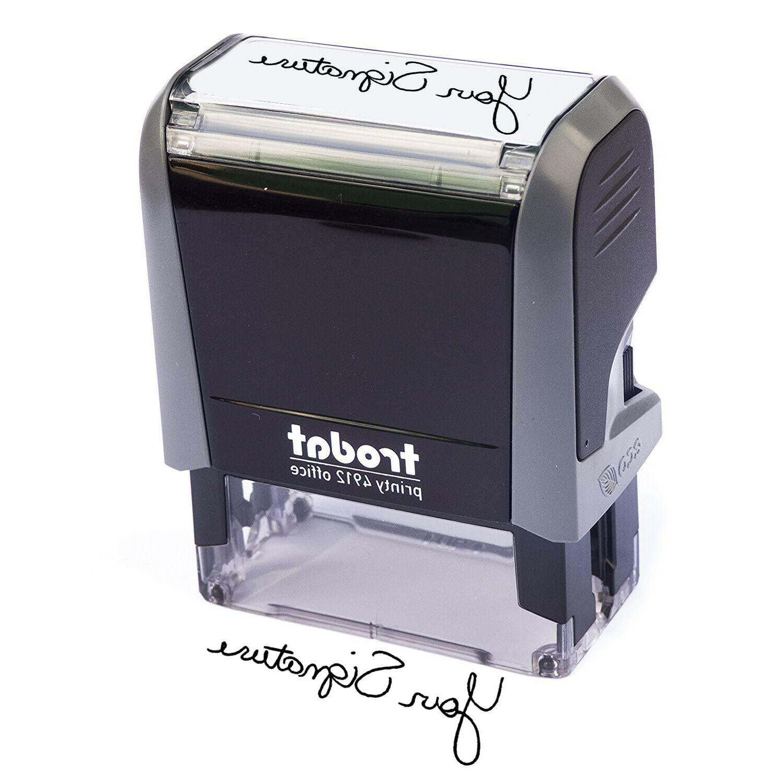 Custom Teacher / Signature Name Stamp JYP-4912-S04