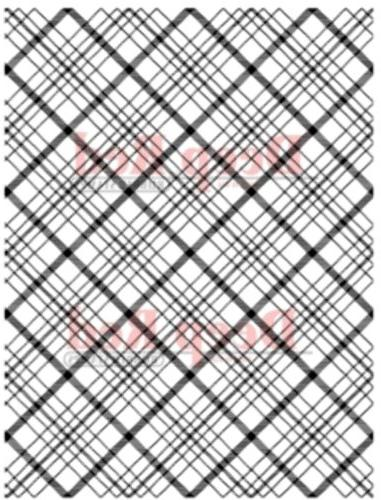 Deep Red Cling Rubber Stamp Rubber Stamp Plaid Background