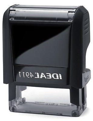 FOR ONLY on an IDEAL Self-inking BLACK