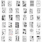 DIY Rubber Stamp Sets SiliconeTemplate Die Card Album Decor