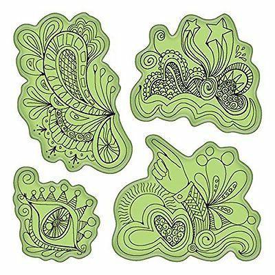 Inkadinkado Doodle Fun Cling Stamps