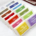 Durable Multi Colors Ink Pad Oil For Rubber Stamp Paper Wood