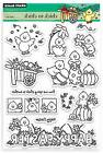 Easter Chick To Chick Clear Unmounted Rubber Stamp Set PENNY