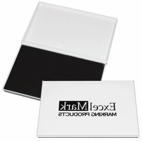 """ExcelMark Ink Pad for Rubber Stamps 4-1/4"""" by 7-1/4"""""""