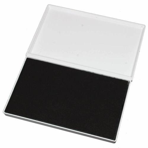 """ExcelMark Extra Large Black Ink Stamps 4-1/4"""" 7-1/4"""""""