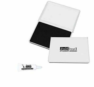 excelmark ink pad for rubber stamps 2
