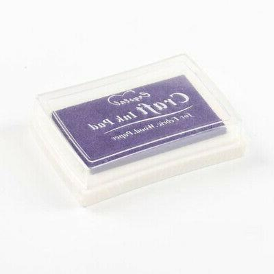 15 Large Stamp Pad Pigment For Fabric Crafts