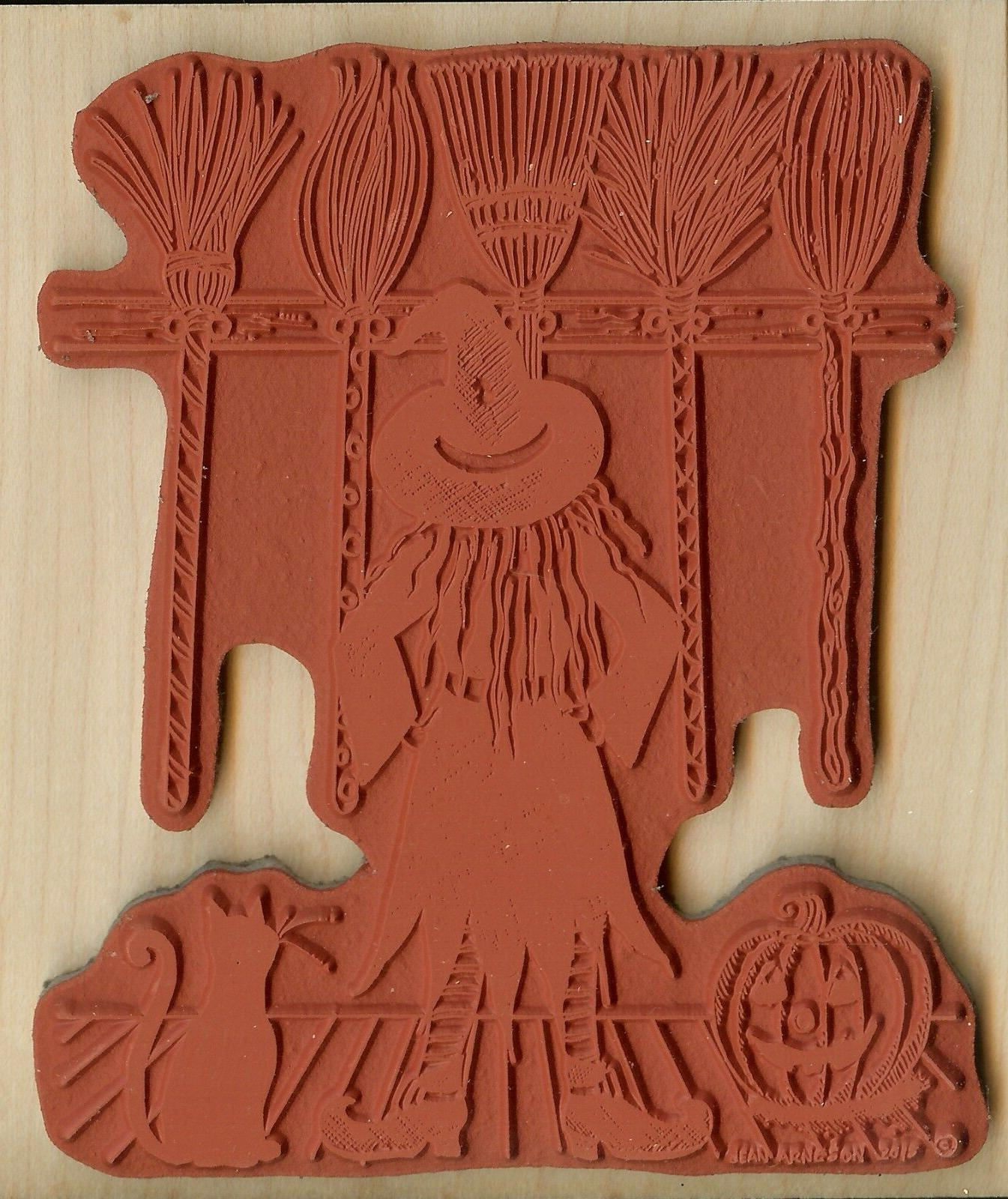 Halloween Cat Wood Stamp NORTHWOODS P10051 New
