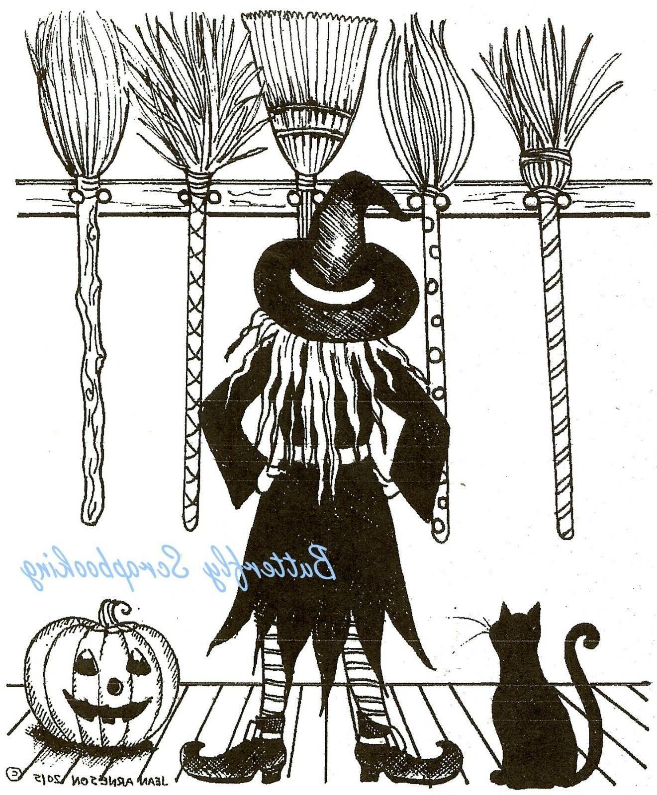 Halloween Cat Stamp NORTHWOODS P10051