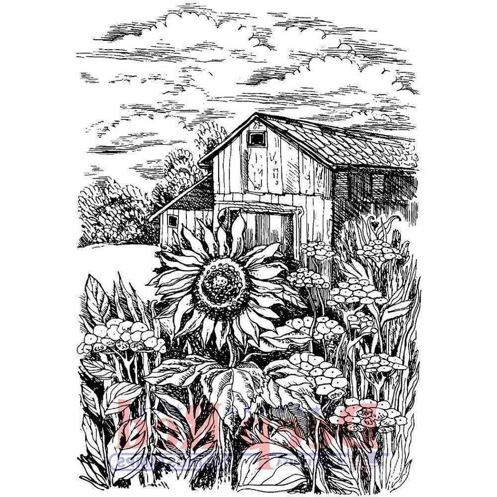 Deep Sunflower Rubber