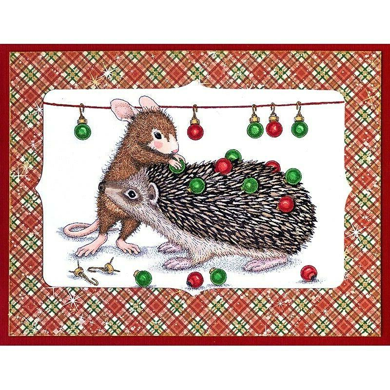 Stampendous House Mouse Cling