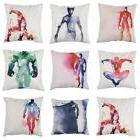 Ink Painting Super Hero Cushion Cover Marvel Pillow Case Sof