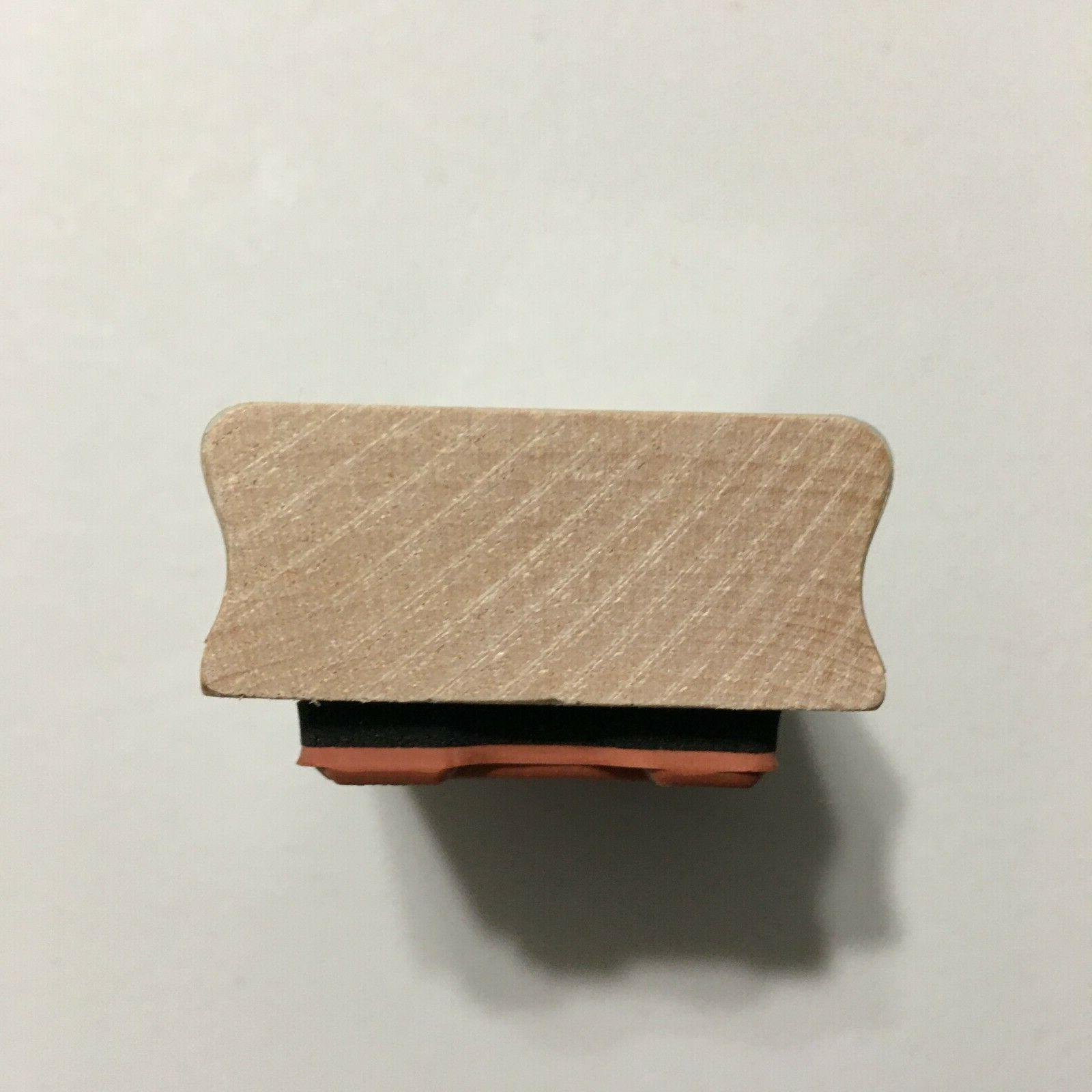Inkadinkado It's Just Matter Of Time Wood Mounted Stamp