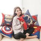lovely cotton linen the avengers throw pillow