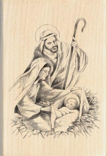 "Inkadinkado 2.75""X4""-Nativity"