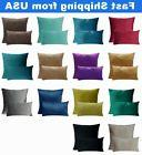 Multi-Color Home Decor Throw PILLOW CASE Sofa Couch Bed CUSH