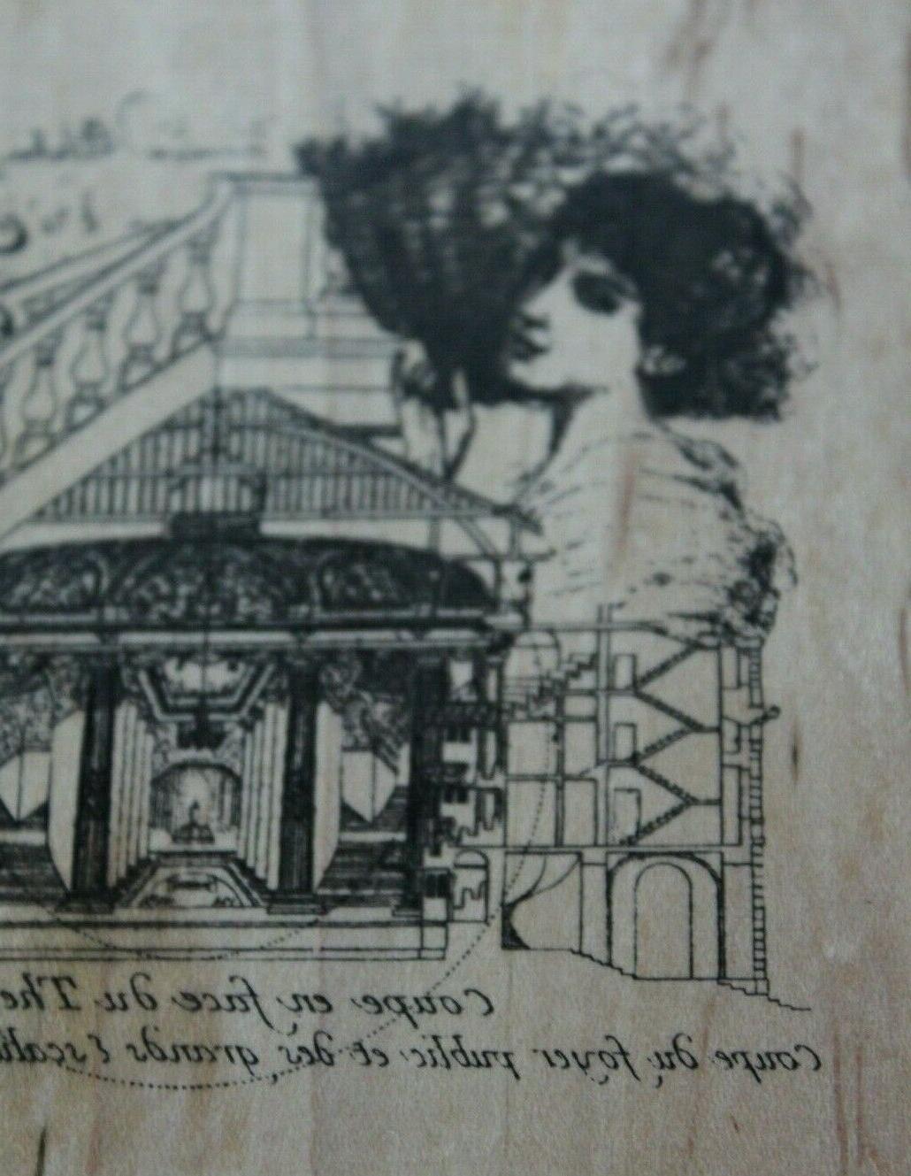 NEW Stamp Illuminata La *scrap-booking &
