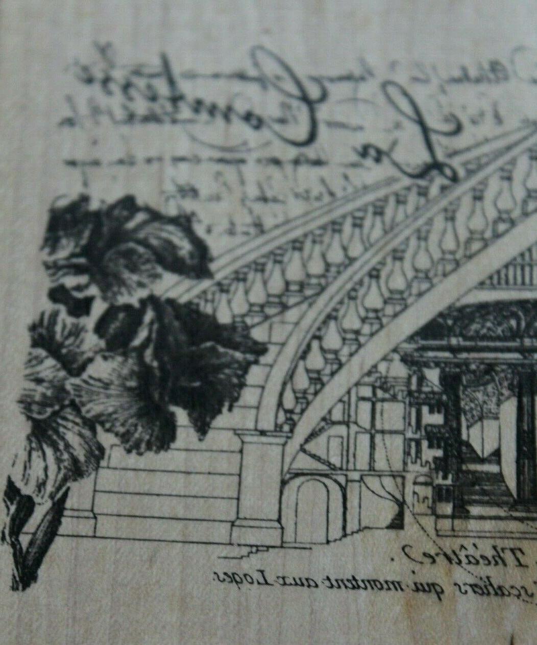 NEW Rubber Stamp Illuminata Comtesse *scrap-booking