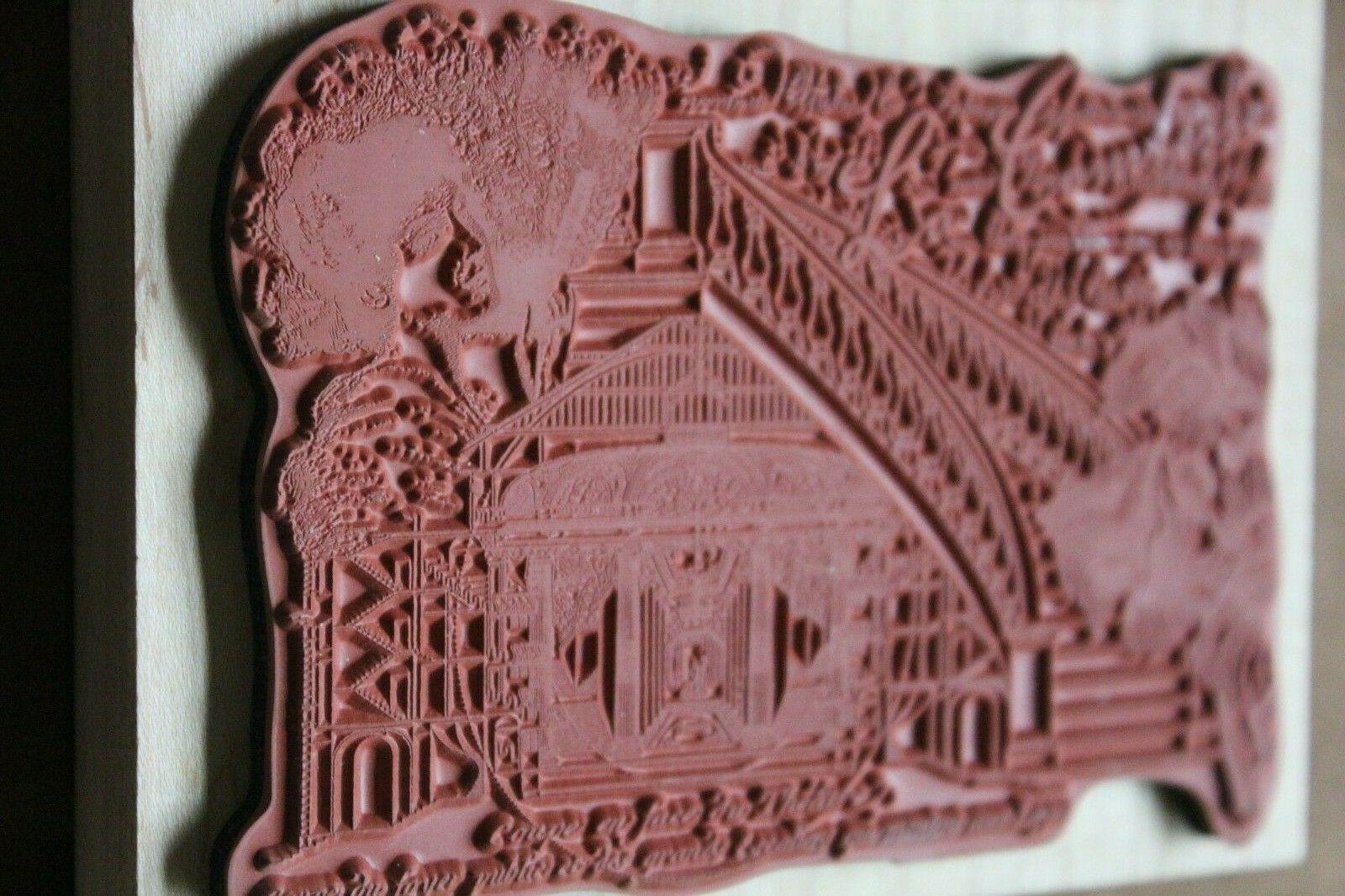 NEW Rubber Illuminata La Comtesse *scrap-booking & card-making