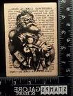 INKADINKADO NEW RUBBER STAMPS CHRISTMAS 96877X SANTA SUBWAY