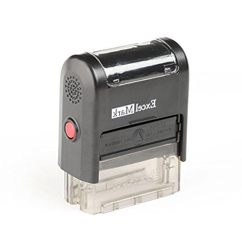 ExcelMark A1539 Self-Inking Stamp Pad