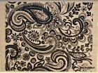 PAISLEY BACKGROUND Rubber Stamp 243189 Recollections Brand N