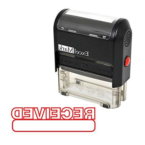 received self inking rubber stamp