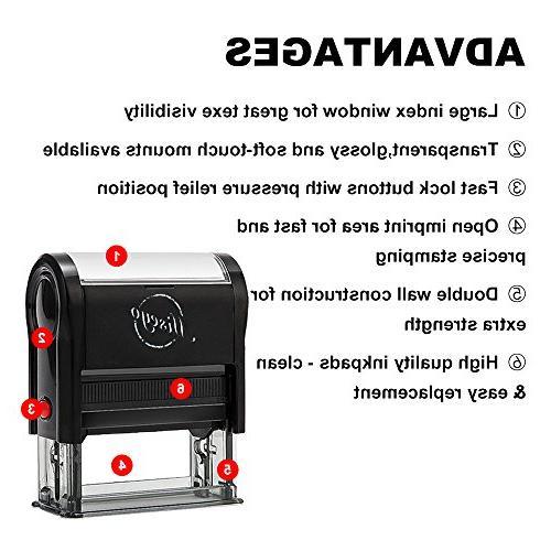 Miseyo to NO Address!! Stamp - Red Ink