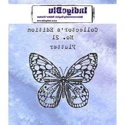 rubber stamp butterfly collectors edition no 21