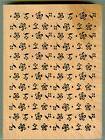 INKADINKADO rubber stamp FLORAL BACKGROUND wood mounted, Flo