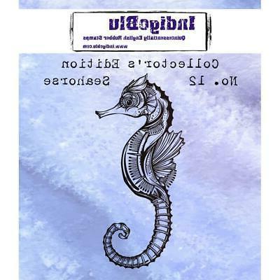rubber stamp seahorse collectors edition no 12