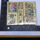 Hero Arts Rubber Stamp Sewing Patchwork Set of 7 New in Pack