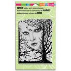STAMPENDOUS RUBBER STAMPS CLING CHILLING NEW cling STAMP