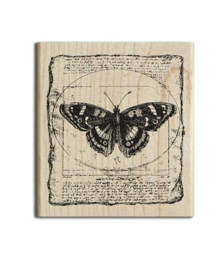 Hampton Cam & Wood Mounted - Butterfly Collage