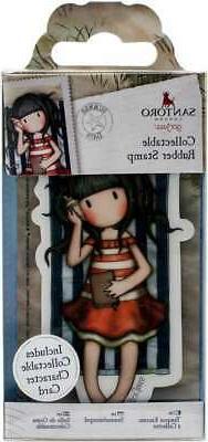 Santoro's Gorjuss Rubber Stamp No. 42 Summer Days 4999930103