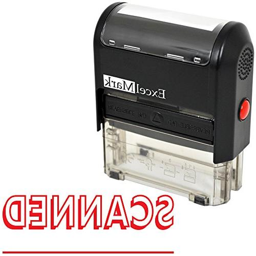 scanned self inking rubber stamp