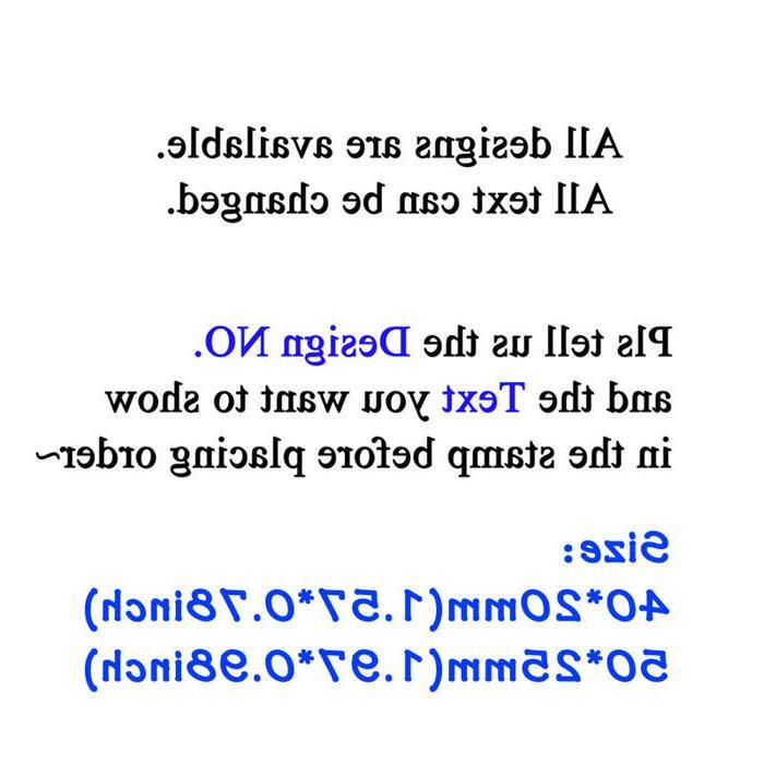 Self address Monogram