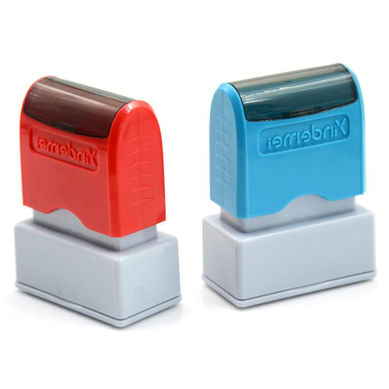self inking office company personalized stamp
