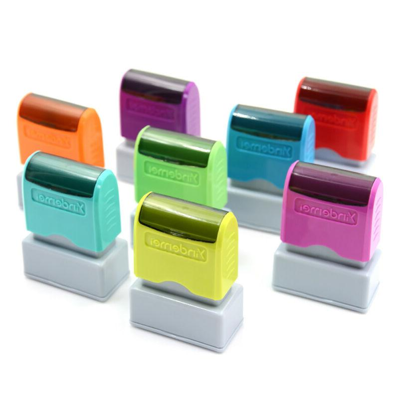 self inking office personalized return stamp XE