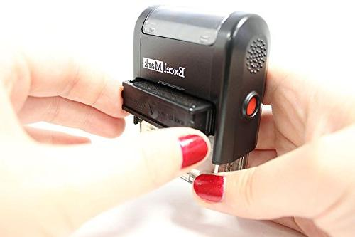 ExcelMark A1539 Stamp with Pad