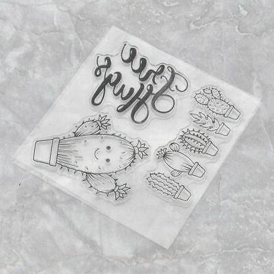 Silicone Clear Stamps Stamp Scrapbook Craft